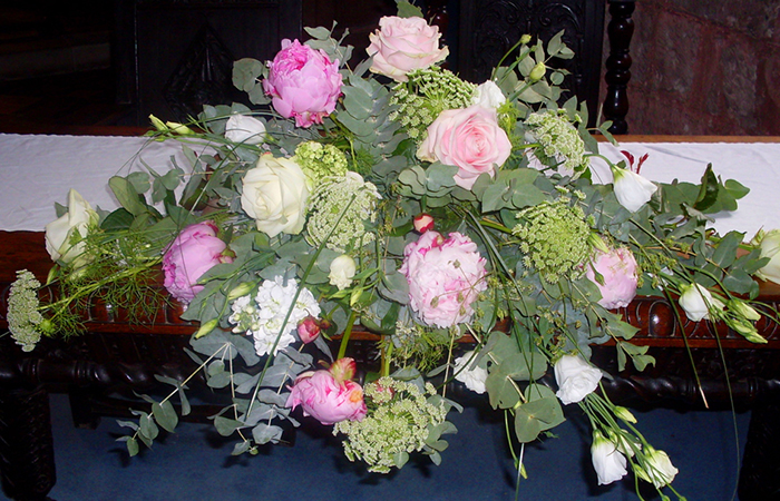 Wedding and Civil ceremony flowers from Wendy Shaw Shrewsbury Shropshire